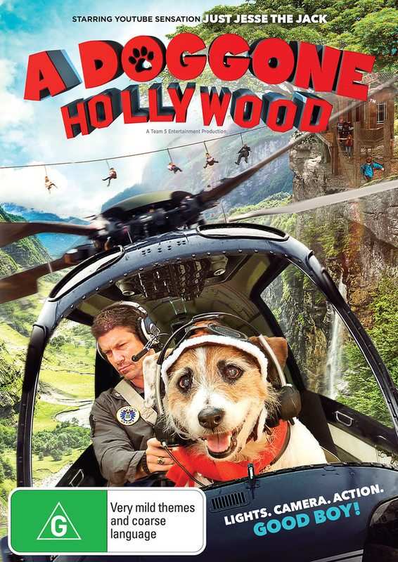 A Doggone Hollywood on DVD
