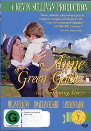 Anne Of Green Gables - The Continuing Story on DVD image