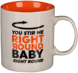 Musicology: You Stir Me Right Round Mug