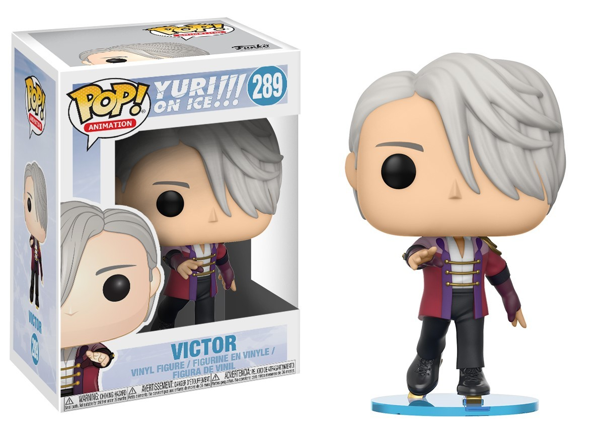 Yuri!!! On Ice – Victor Pop! Vinyl Figure image