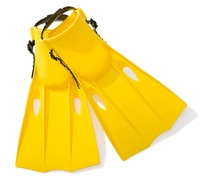 Intex: Medium Swim Fins - (Yellow)