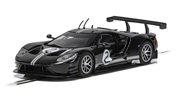 Scalextric: Ford GT GTE #2 (Heritage/Black) - Slot Car