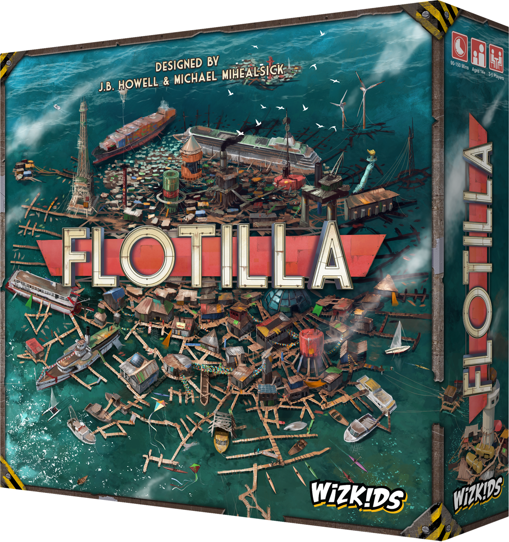 Flotilla - Board Game image