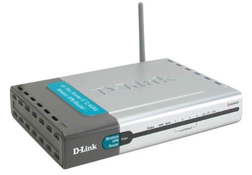 D-Link Hi-Speed 2.4GHZ Wireless Network Router DI-824VUP