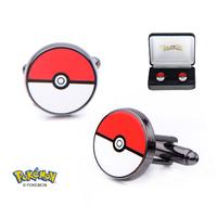 Pokemon Stainless Steel Pokeball Cufflinks