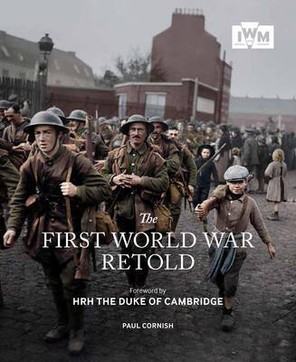 The First World War Retold by Paul Cornish image