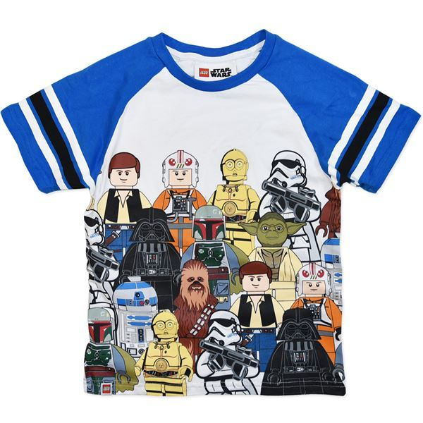 LEGO Star Wars Character T-Shirt (Size 7)