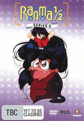 Ranma 1/2 - Series 5 (5 Disc Box Set) on DVD