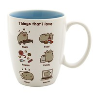 Pusheen the Cat Mug - Things I Love