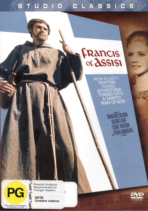 Francis Of Assisi on DVD image