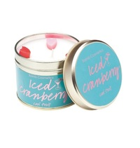 Bomb Cosmetics Candle - Iced Cranberry