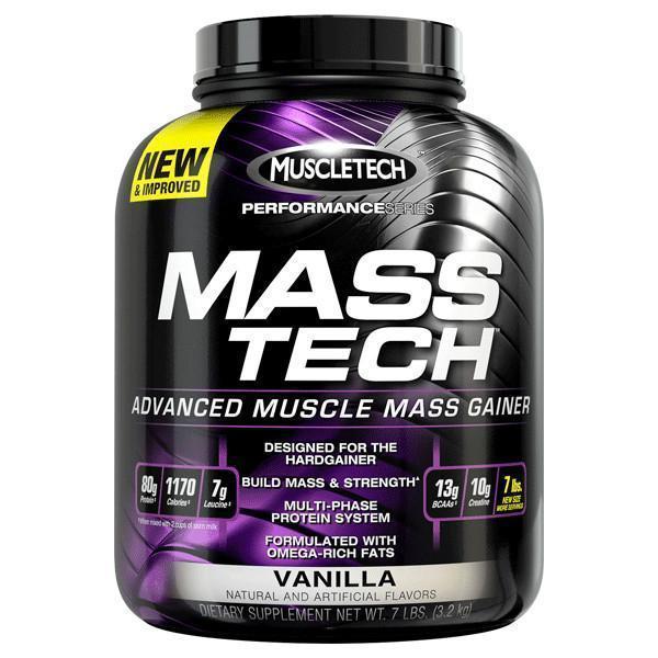 MuscleTech Performance Series Mass Tech - Vanilla (3.2kg)