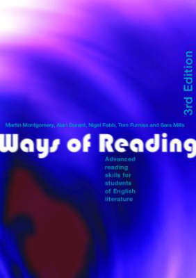 Ways of Reading: Advanced Reading Skills for Students of English Literature by Martin Montgomery image