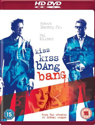 Kiss Kiss Bang Bang on HD DVD image