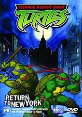 Teenage Mutant Ninja Turtles - Vol. 07: Return to New York on DVD