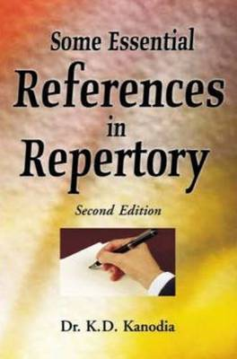 Some Essential References in Repertory by K.D. Kanodia
