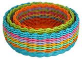 Woven Nesting Storage Baskets (Round)