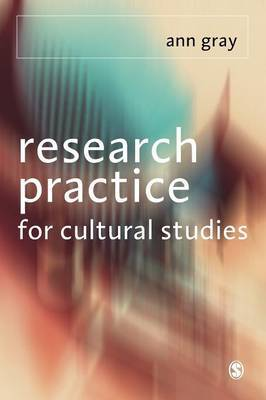 Research Practice for Cultural Studies by Ann Gray image