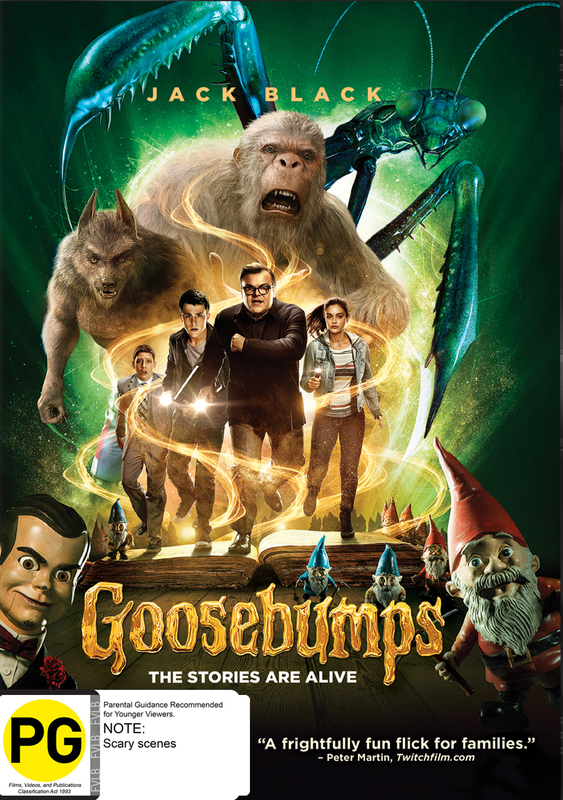 Goosebumps on DVD
