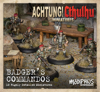 Achtung! Cthulhu - Badger`s Commandos Unit Pack