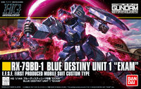 1/144 HGUC RX-79BD-1 Blue Destiny (Unit 1 EXAM) - Model Kit