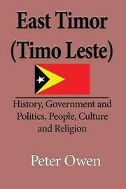 East Timor (Timo Leste) by Owen Peter