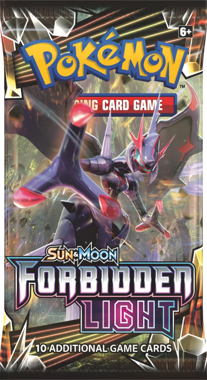 Pokemon TCG: Forbidden Light - Single Booster (10 Cards) image