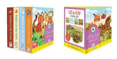 Baby Animal Boxed Set by Ginger Swift