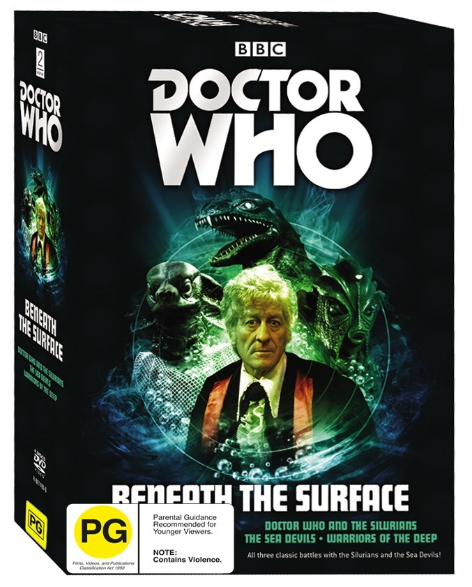 Doctor Who: Beneath the Surface on DVD image
