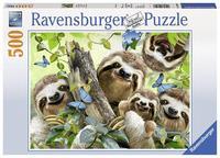 Ravensburger : Sloth Selfie Puzzle 500pc