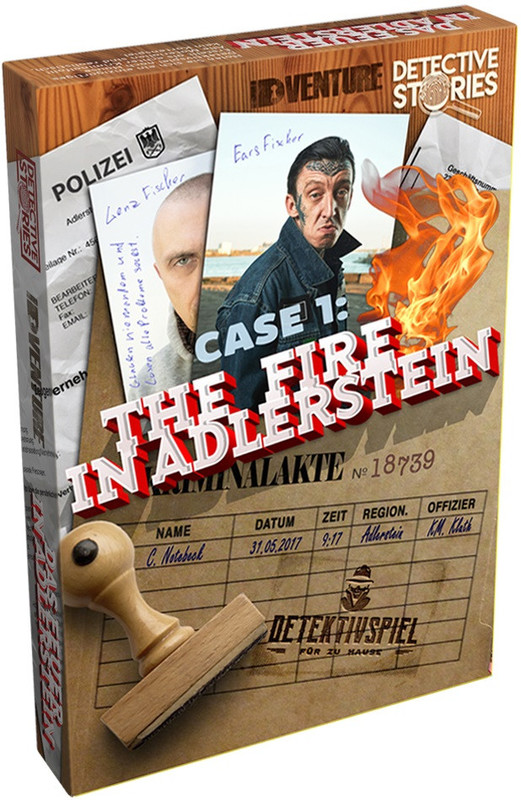 Detective Stories Case 1 - The Fire in Adlerstein