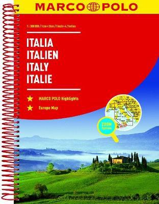 Italy Marco Polo Road Atlas by Marco Polo image