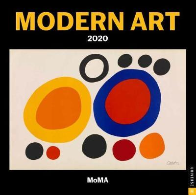 Modern Art 2020 Square Wall Calendar
