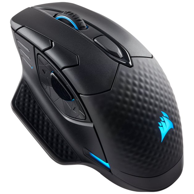 Corsair Dark Core RGB SE Performance Wireless/Wired Gaming Mouse for PC