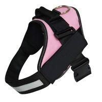 Adjustable Dog Harness - Pink (XXL)