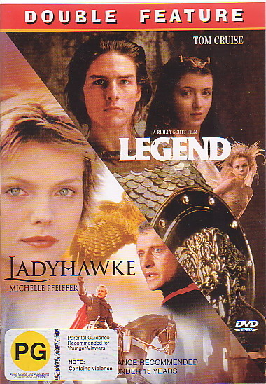 Legend / Ladyhawke - Double Pack (2 Disc Box Set) on DVD