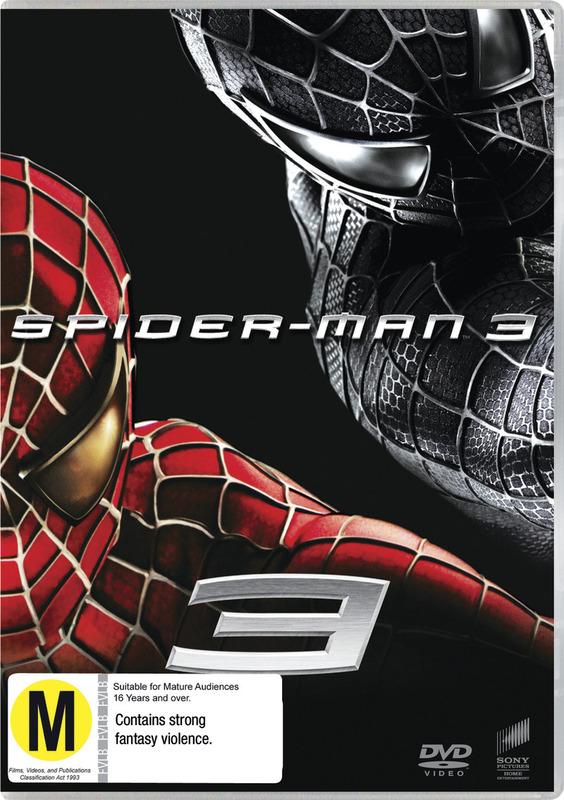 Spider-Man 3 (New Packaging) on DVD