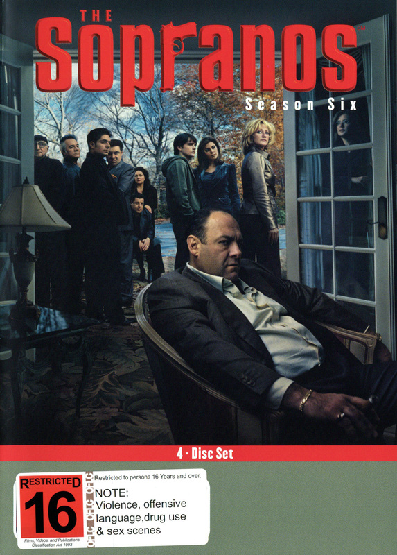 The Sopranos - Season 6, Part A (4 Disc Set) on DVD