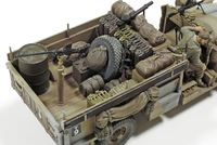 Tamiya 1:35 LRDG Command Car with 6 Figures image