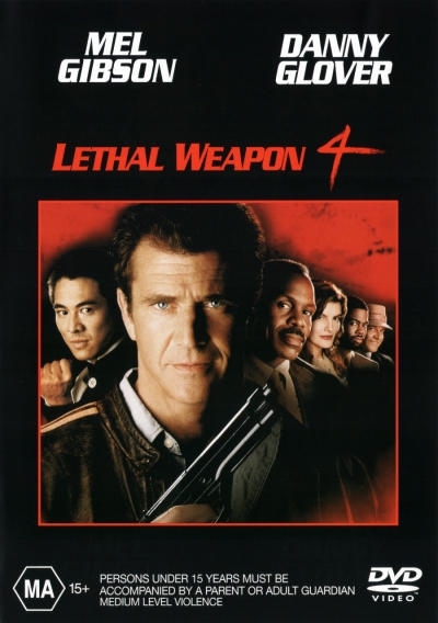 Lethal Weapon 4 on DVD