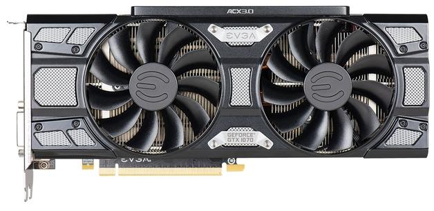 EVGA GeForce GTX 1070 8GB SC Black Edition Graphics Card