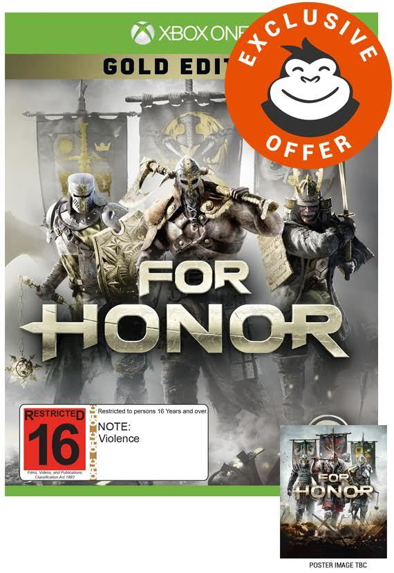 Xbox One Gold For Honor Gold Edition...