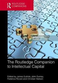 The Routledge Companion to Intellectual Capital