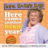 Mrs Brown's Boys 2018 Square Wall Calendar
