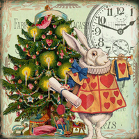 Madame Treacle: Announcing Christmas - Greeting Card