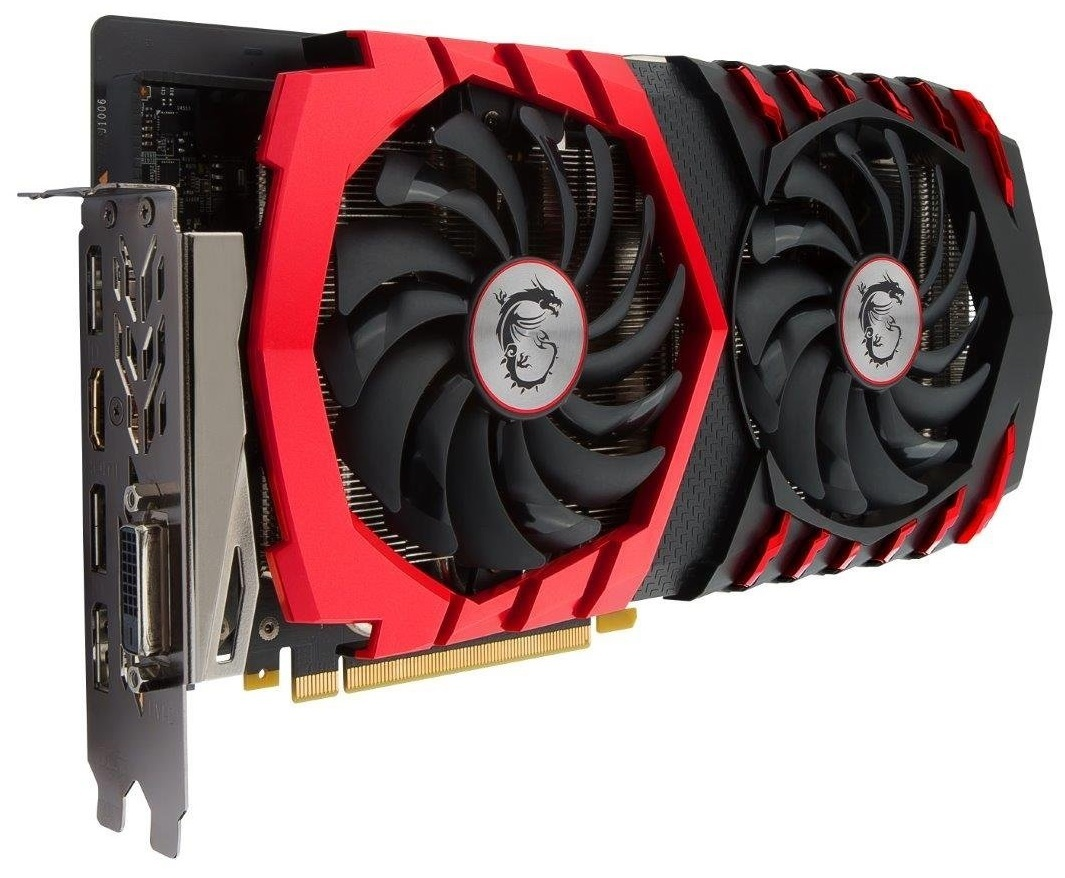 MSI GeForce GTX 1060 Gaming X 6GB Graphics Card image