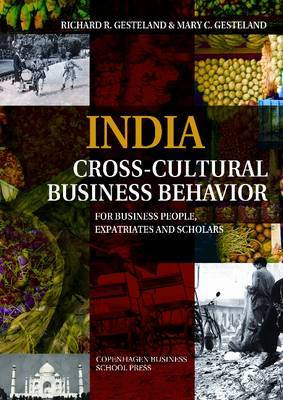 India Cross-Cultural Business Behavior by Richard R. Gesteland