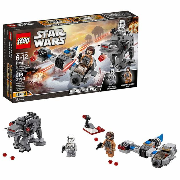 LEGO Star Wars: Ski Speeder vs. First Order Walker - Microfighters Set (75195)