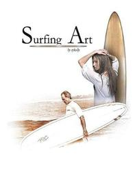 Surfing Art by Vincent J Kelly