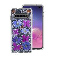 Miesherk: XH phone case for Samsung S10- Silver Purple